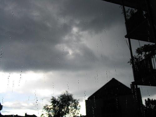 Leichtes Gewitter